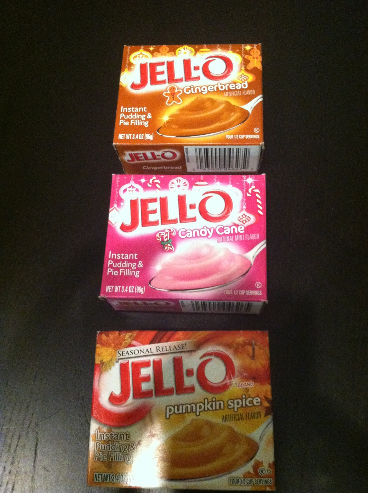 Blackberry Instant Pudding Flavors Jello
