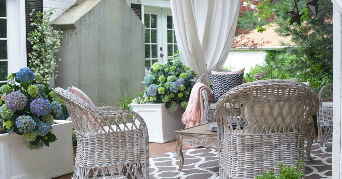 How To Create Rustic Cottage Charm On Your Patio FRENCH