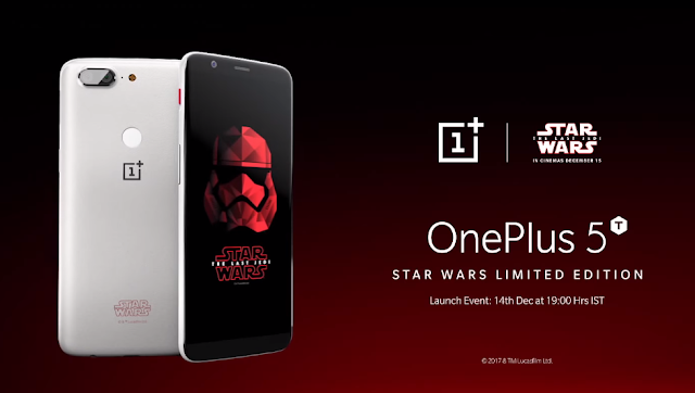OnePlus 5T Star Wars Limited Edition release likely limited to these countries