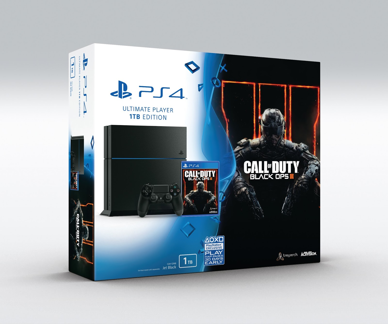 8eeb791382 Ism Games  Call of Duty  Black Ops III Edição limitada PS4 Bundle ...