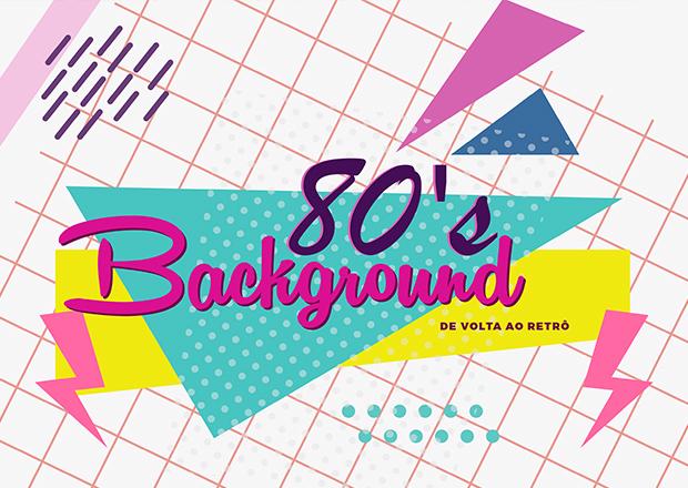 Fundos dos anos 80 de graça