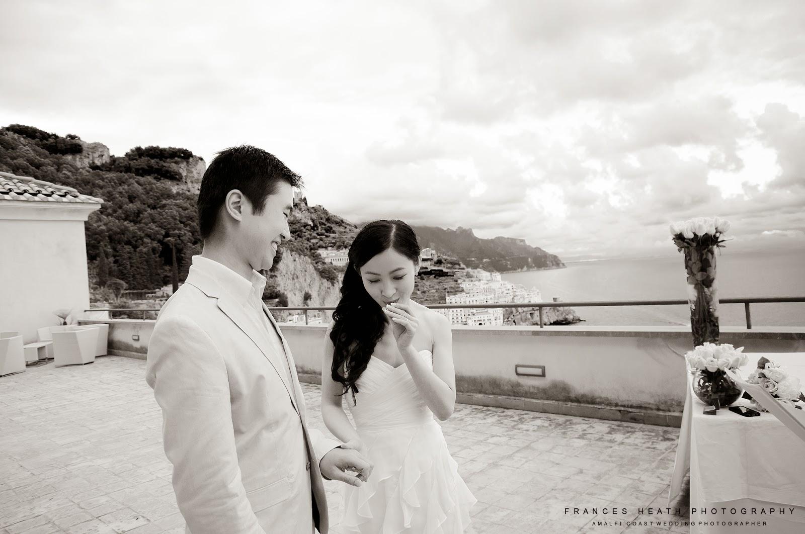 Wedding ceremony at Hotel Convento