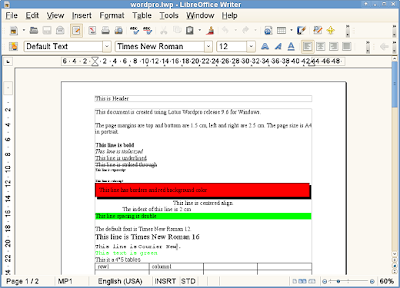 wordpro  Program Alternatif Terbaik Selain Microsoft Office