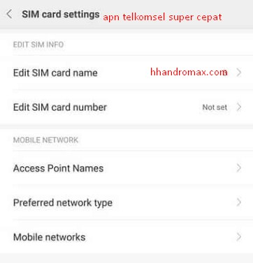 Cara Setting Apn Telkomsel Crimsonnight