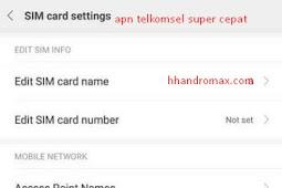 Apn Telkomsel Tercepat Modem dan Android