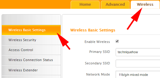 change tenda router SSID or name