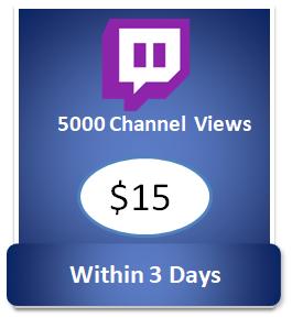 5000 twitch channel views