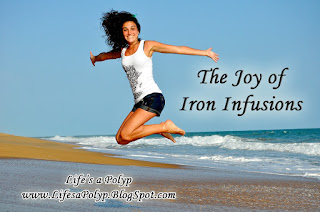 loving iron infusions  life's a polyp