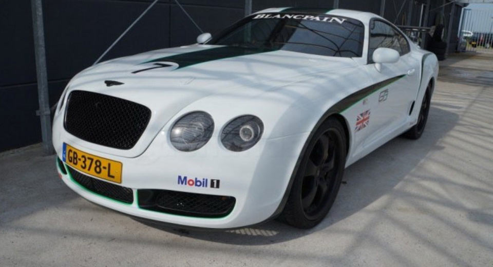 This Is Not A Real Bentley Continental Gt3 R Just A