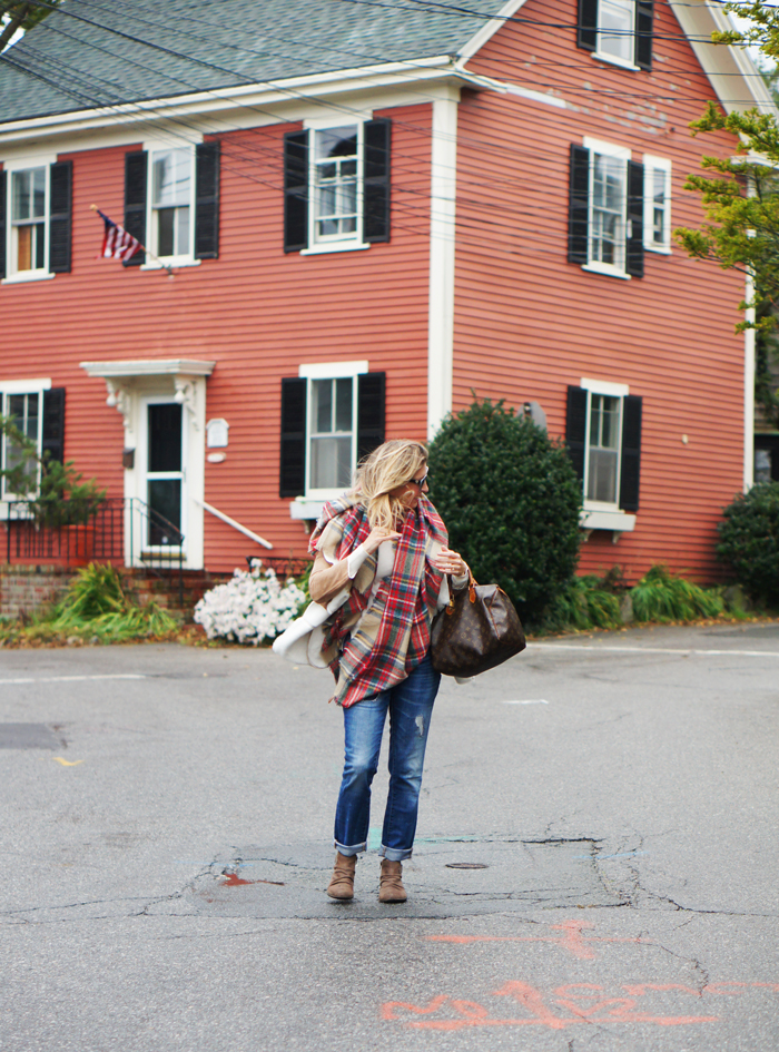 The Paper Store Plaid Scarf