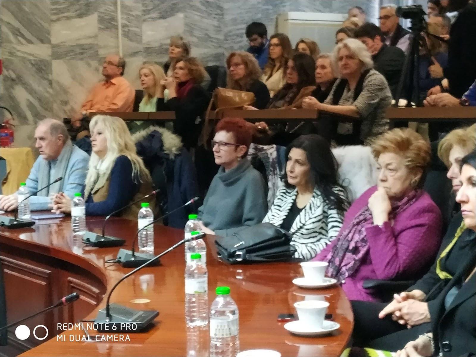 Παρέμβαση των Εν.Πο.Λ. στη συνάντηση με την υπουργό Πολιτισμού