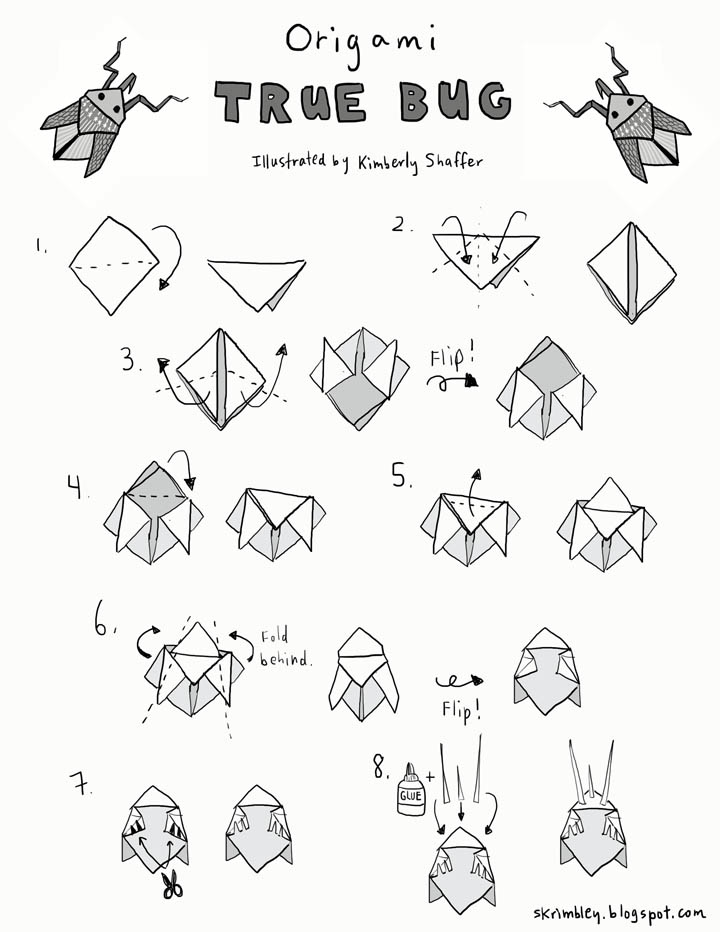 mike39s origami origami diagram links insects