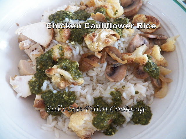 Chicken Cauliflower Rice