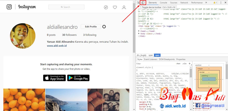 Cara Upload Foto di Instagram Lewat PC Terbaru - Blog Mas Aldi