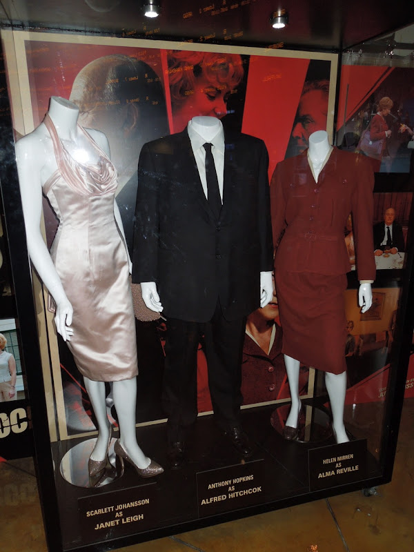 Original Hitchcock movie costumes