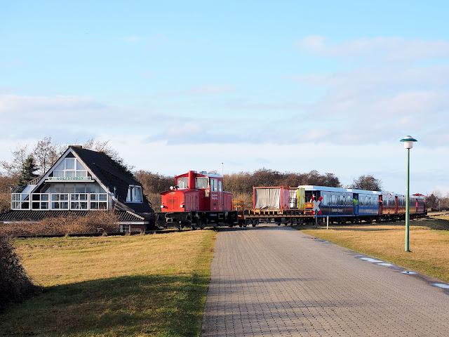 Langeoog, Inselbahn, Minigolf