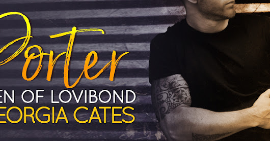 ❤❤PORTER by Georgia Cates Cover Reveal + Excerpt ❤❤ @givemebooksblog @GeorgiaCates