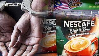 Curi Nescafe untuk anak di universiti