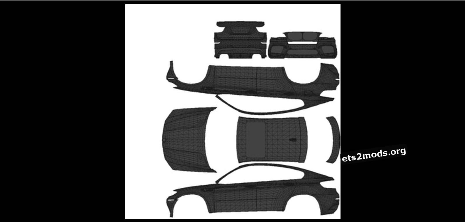 BMW X6 Template