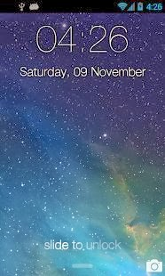 iPhone 5S Lock Theme for Android
