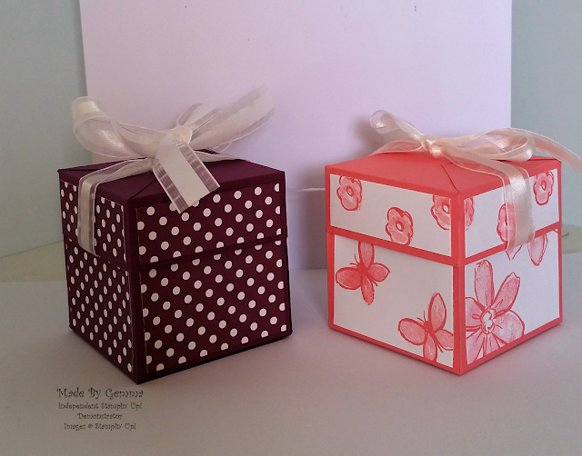 Stampin'Up! gift box