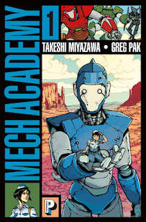 Mech Academy tome 1 dans la collection Paperback des éditions Casterman