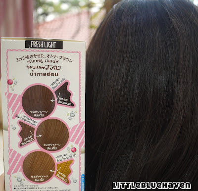 Schwarzkopf Freshlight Hair Colour In Caramel Brown Review