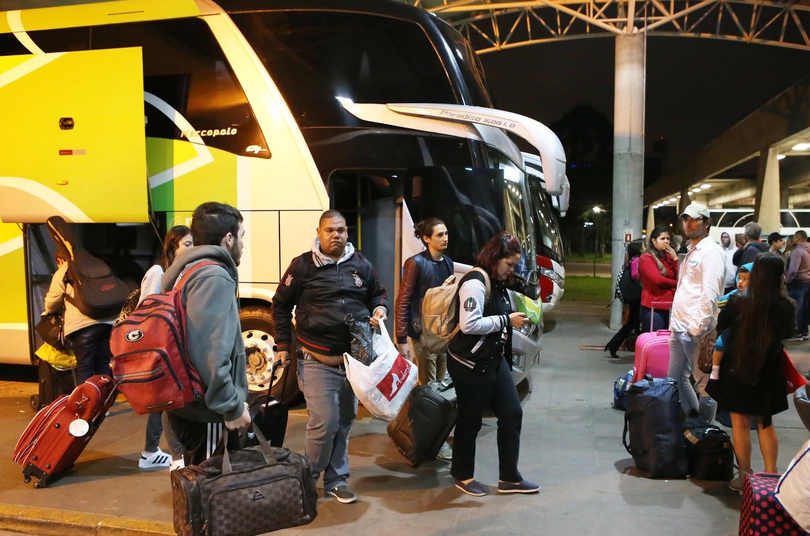 Rodoviária de Curitiba vai receber meio milhão de pessoas neste fim de ano