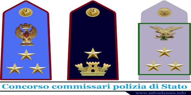 Concorso commissari polizia di Stato