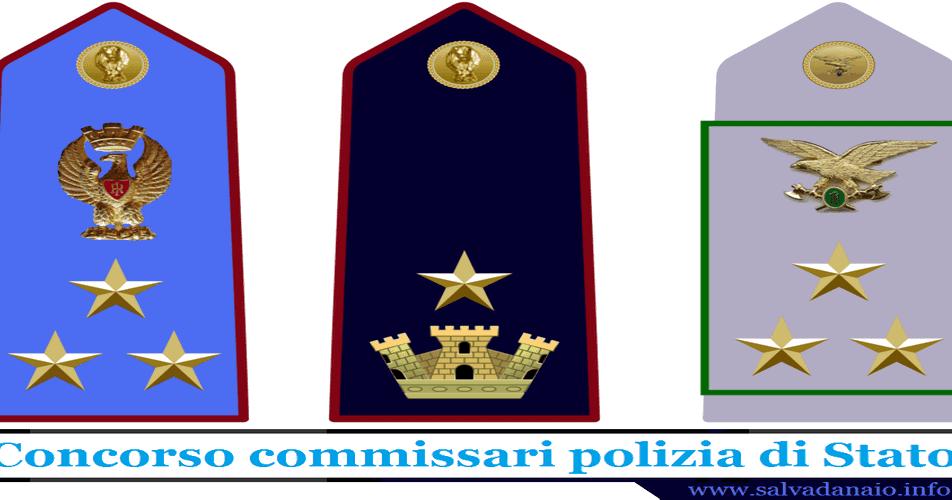 Concorso commissari polizia di stato 2016 esami e requisiti for Commissario esterno esami di stato rinuncia