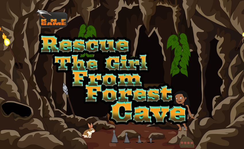 KNFGame Rescue The Girl From Forest Cave