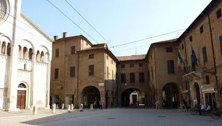 Centro histórico de Módena.