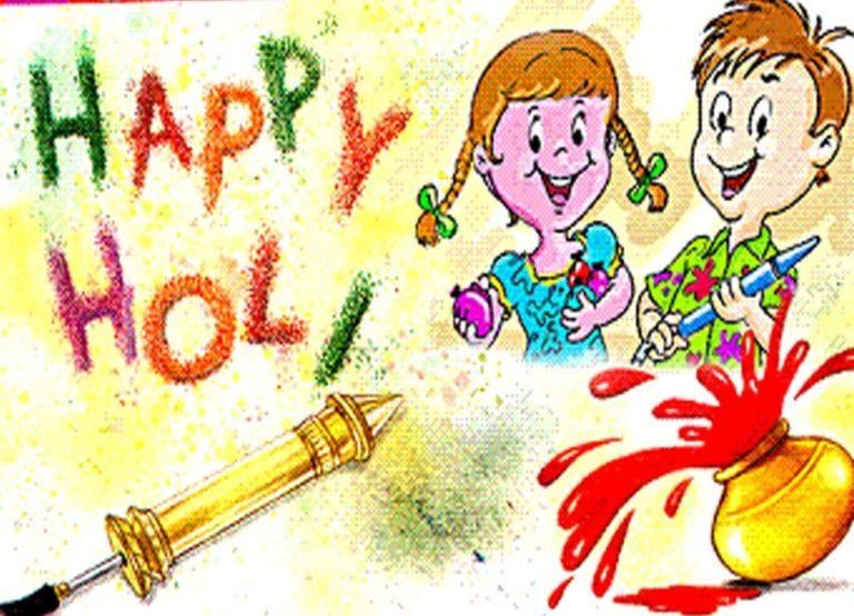Happy Holi Images 768x554 - Best Holi Shayari Images all time