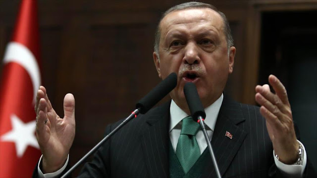 Erdogan: EEUU maquina contra Turquía, Rusia e Irán en Siria