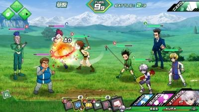 Hunter x hunter rpg game