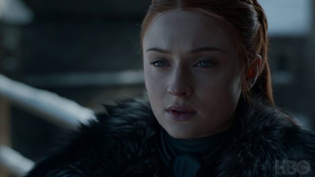 game of thrones sansa is bad ass in episode 1 of the last season
