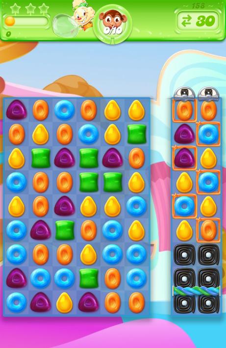 Candy Crush Jelly Saga 158