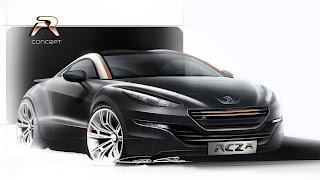 Dream Fantasy Cars-Peugeot RCZ R