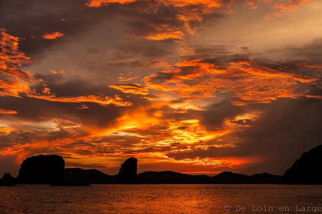 Koh-Yao-Noi-Thailande-Koh-Aleil-Koh-Phakbia-sunset