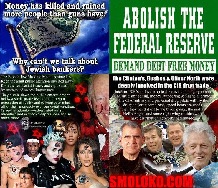 FED, conspiracy, NWO, zionism
