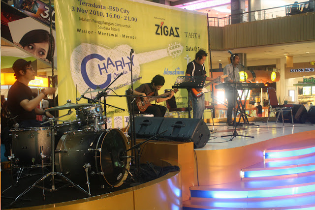 Charitycoustic Teras kota