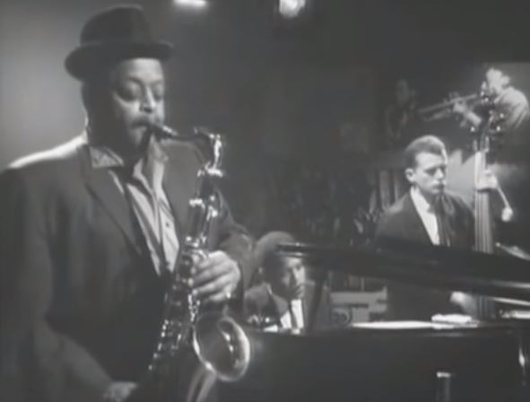 Ben Webster au Danemark avec le trio de Kenny Drew.