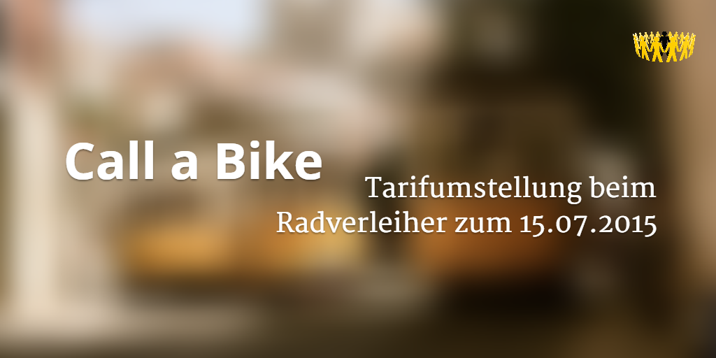 Call A Bike Kündigen Abofalle Verbraucherdienst Ev