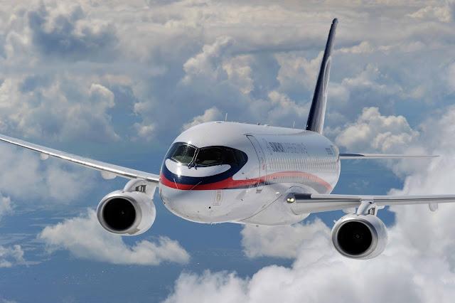 Sukhoi SuperJet 100 Inflight