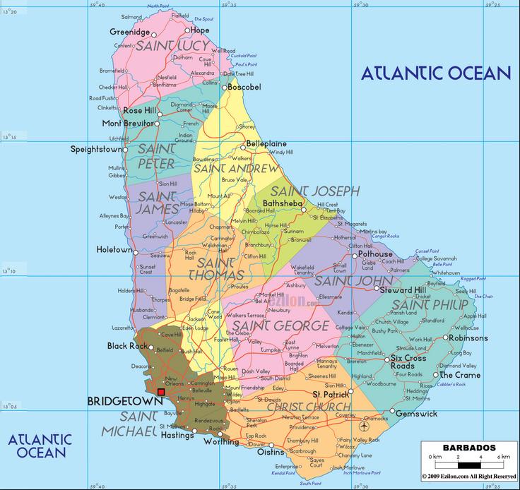 Mapas da América