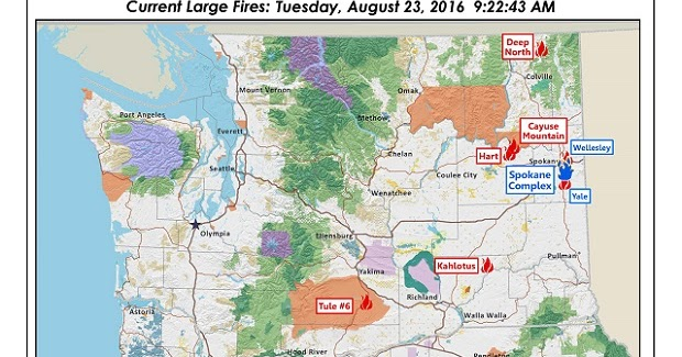 Northwest Interagency Coordination Center 8 23 2016 OR & WA