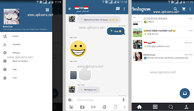 BBM Mod Instagram V2.13.1.14 Apk Unclone