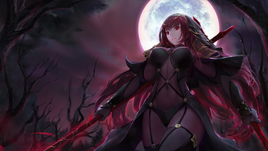 Fate/Grand Order, Scathach, 4K, #6.2331