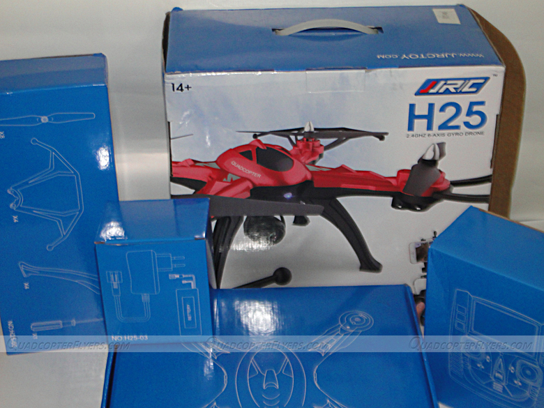 JJRC H25 Quadcopter Unboxing