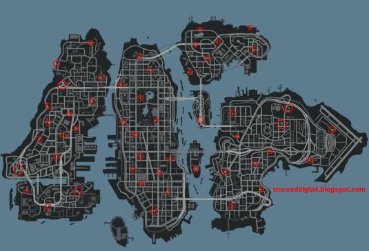 Gta Gta Liberty Iv Map City